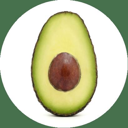 výtažky z avokáda